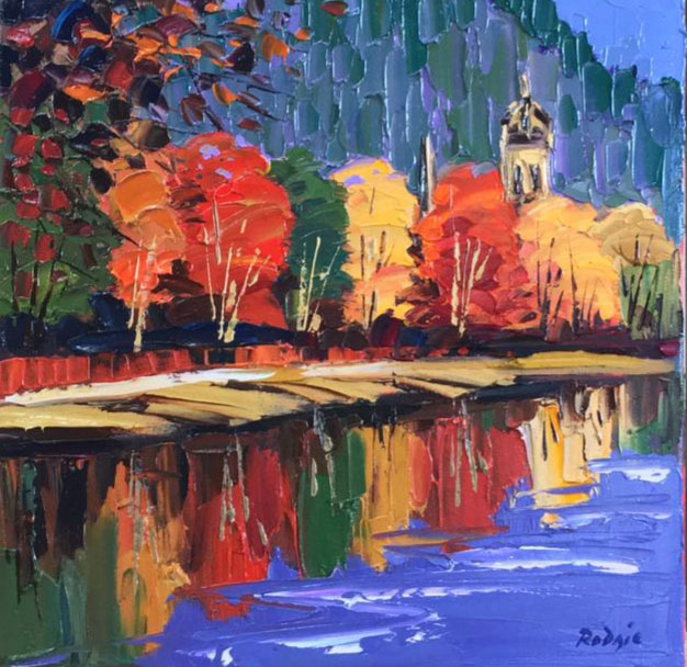 On the Banks of the Tweed - Lynn Rodgie