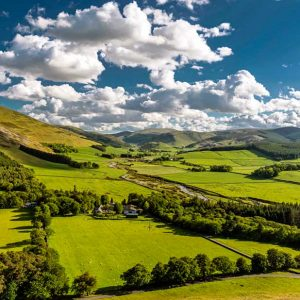 Manor Valley by Allan Wright Photography - Zenwalls Gallery Peebles
