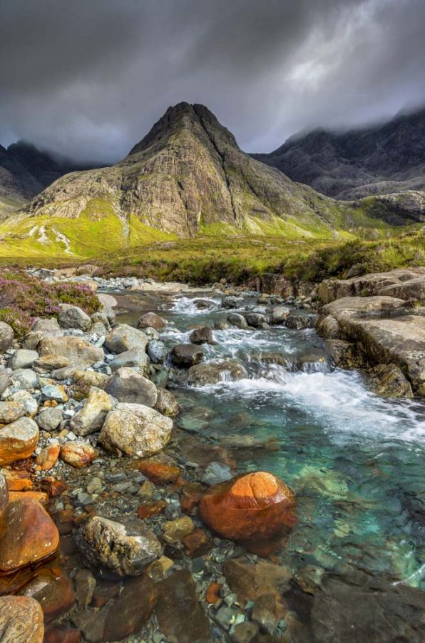Fairy Pools of Skye by Allan Wright