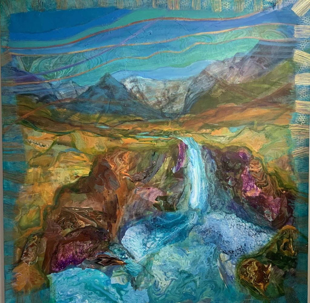By The Fairy Pools by Bella Green